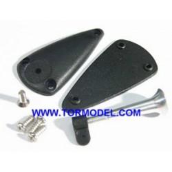 Horn Ajustable aluminio 2,8x34mm