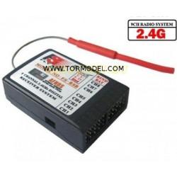 Receptor 8 ch. 2.4Ghz v2 - FS-TH9X-B