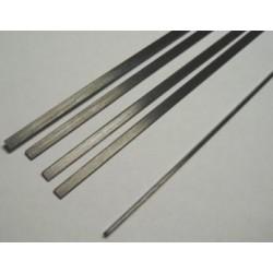 Varilla carbono plana 10 x 0.5 x 1000mm.