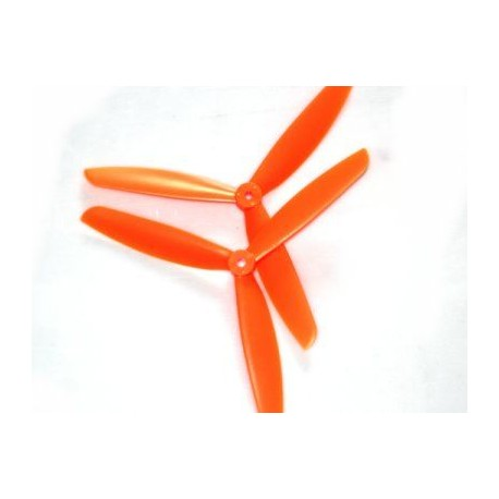 Helice Tripala 9x4.5 Naranjas - Pareja