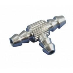 Conector combustible en T - Aluminio
