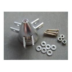 Cono aluminio Tripala para helices Plegables 40mm Eje 3mm