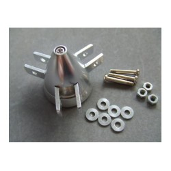 Cono aluminio Tripala para helices Plegables 45mm Eje 3mm