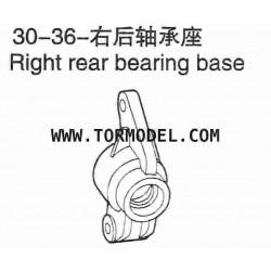 VH-30 36 Right rear bearing base