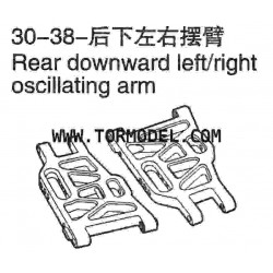 VH-30 38 Rear downward left/right oscillating arm