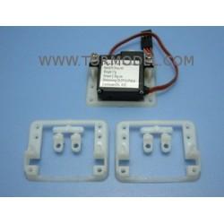 Soporte para servos de 17g-Fu3003. (2 unidades)