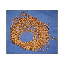 Cable de servo Trenzado JR N/R/M (5 mts.)