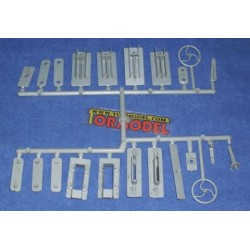Accesorios de plastico - Set 3