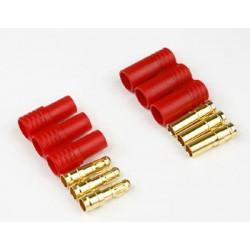 Conectores Banana 3.5mm - ASIMETRICO