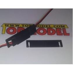 Clip seguridad para conector de servo Modelo T