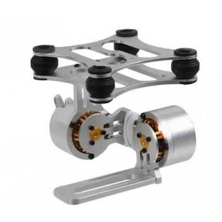 Gimbal de aluminio con motores Brushless