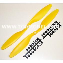 10x4.5 (Norm. + Rev.) Amarillas