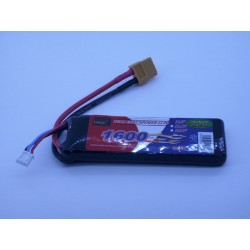 Bateria Lipo 1600mAh 7.4v (2S) 20C