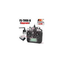 FlySky TH9x-B 2,4Ghz. Digital con receptor 8 ch.