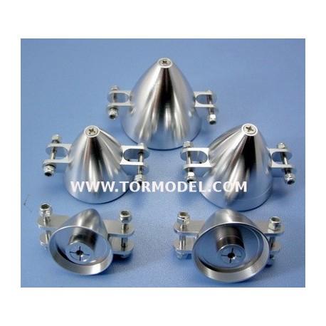 Cono aluminio para helices plegables 40mm Eje 3.17mm