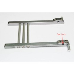 Soporte para emisoras en Aluminio - 135mm