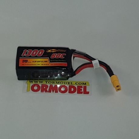 Bateria Lipo Desire Power 1300mAh 14.8v (4S) 60C