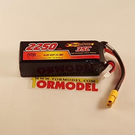 Bateria Lipo Desire Power 2250mAh (4S) 35C