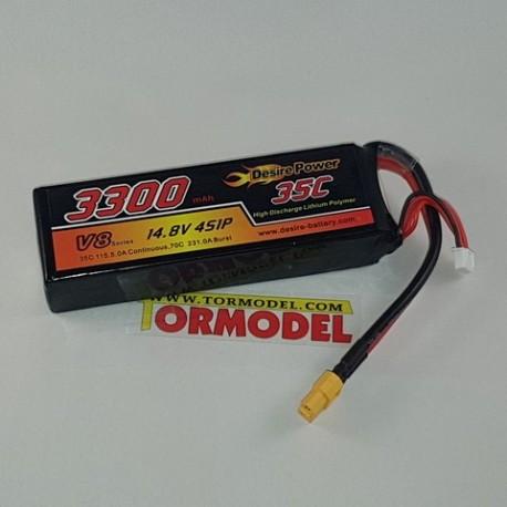 Bateria Lipo Desire Power 3300mAh 14.8v (4S) 35C