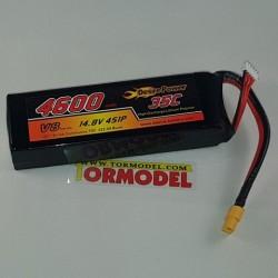 Bateria Lipo Desire Power 4600mAh 14.8v (4S) 35C
