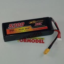Bateria Lipo Desire Power 5200mAh 14.8v (4S) 35C
