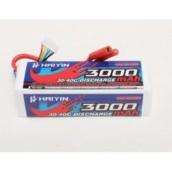Bateria Lipo Haiyin 3000mAh 22.2v (6S) 30C