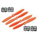 6x4.5 (2xNorm. + 2xRev.) Naranjas