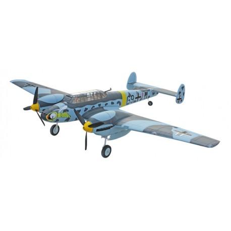 Messerschmitt BF-110 1500mm PNP con tren retráctil
