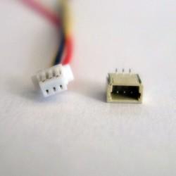 Conector JST SH 1.0 de 3 pins Macho/Hembra