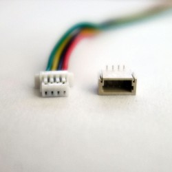 Conector JST SH 1.0 de 4 pins Macho/Hembra