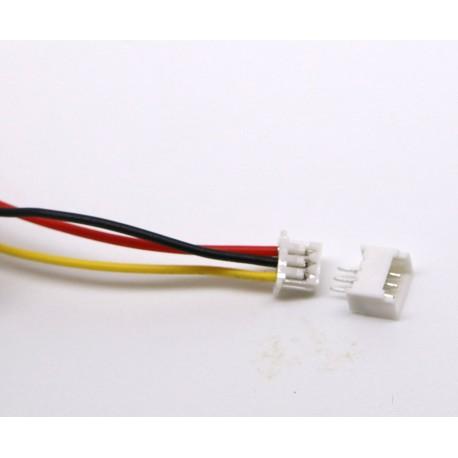 Conector JST GH 1.25 de 3 pins Macho/Hembra