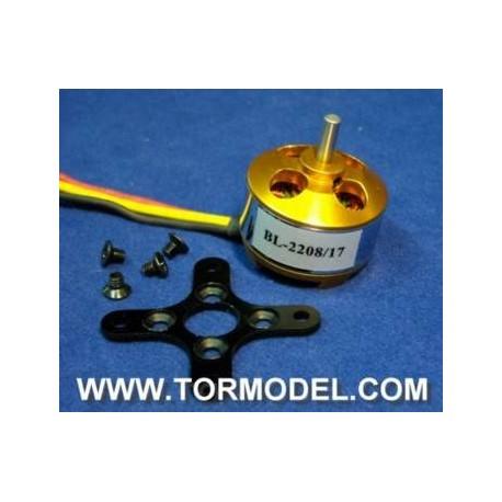 Motor Brushless A2208/17 1100 KV
