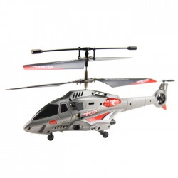 Helicoptero SHOOTER Lanza misiles 3ch - gris