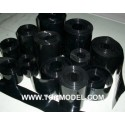 PVC termo-retractil bateria 30 mm negro