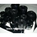 PVC termo-retractil bateria 120 mm negro