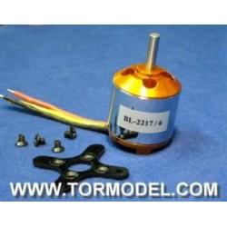 Motor Brushless A2217/7 1250 KV
