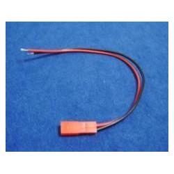 Conector JST macho con cable