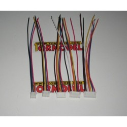 Conector Macho JST-HX Balanceo 2S (3 pins) con cable