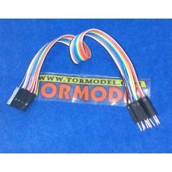 Cable Pin Macho - Hembra 20cm.