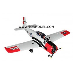 T-28 Trojan Rojo EPO - 1270mm. con tren retractil