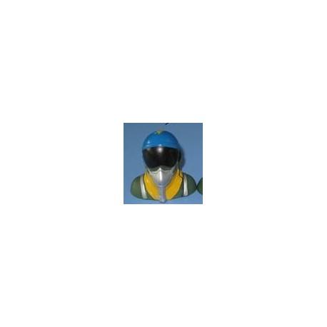 Piloto de combate escala 1/10 - 41x28x39mm