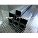 Tubo carbono Cuadrado 5 X 5 X 1000mm.