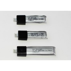 Bateria 3,7V 130mAh