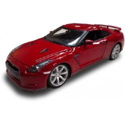 Nissan GT-R 2009 - Rojo - 1:18