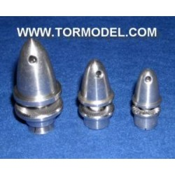 Adaptador Helice 3,17mm. aluminio con cono