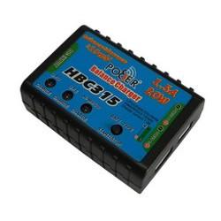 Mini Cargador HBC315 para Li-Po y Ni-Mh/Cd