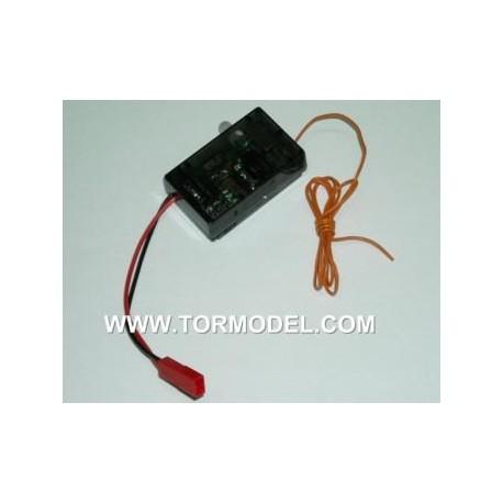 Receptor 4 en 1 para helicoptero 35 MHz