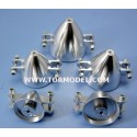 Cono aluminio para helices plegables 38mm Eje 3.17mm