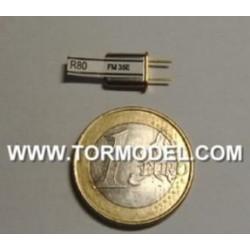 Mini cristal RX 35.050 FM canal 65