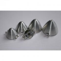 Cono aluminio para helices plegables 50mm Eje 4mm
